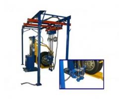 Обладнання для обслуговування і ремонту коліс
